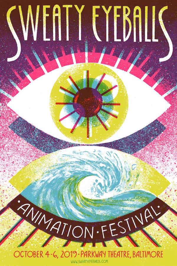 Sweaty Eyeballs festival poster 2019